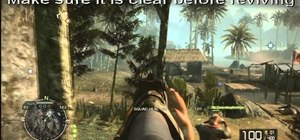 Play as the Medic class well in Battlefield Bad Company 2: Vietnam