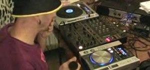 Mix on CDJ turntables