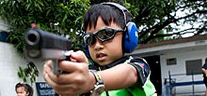 The Amazing 6-Year-Old Sharp Shooter