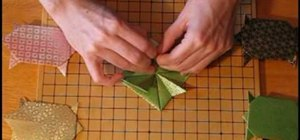 Make an origami tortoise