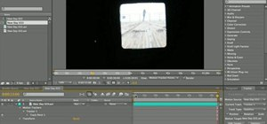 Stabilize video in After Effects CS4