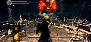 Beat the Demon Firesage boss fight in Dark Souls