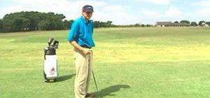 Start your downswing in golf