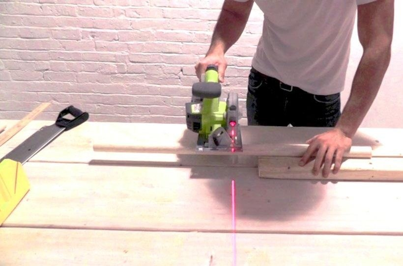 How to Make a Sweet $5 Bar Stool Using Wooden Dowels & Concrete