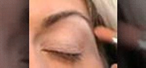 Apply 80's-inspired eyeshadow