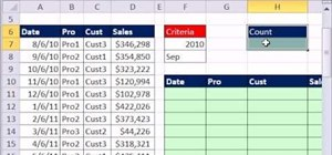 Extract month and year records from transactional data in Microsoft Excel