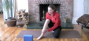 Get rid of shin splints with Tara Stiles