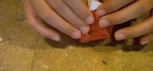 Fold an advanced origami Kawasaki rose