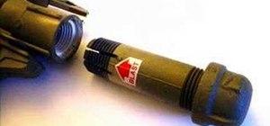 Make a homemade rocket gun