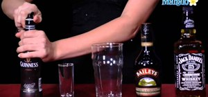 Mix an Irish Car Bomb with Guinness, Bailey's  & Jameson