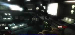 Set up an invincibility barrier on the map Five in Call of Duty: Black Ops