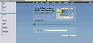 Create your own iTunes podcast