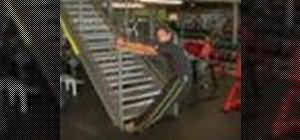 Do upper back stretches