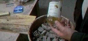 Soak and slake down dried clay with Simon Leach