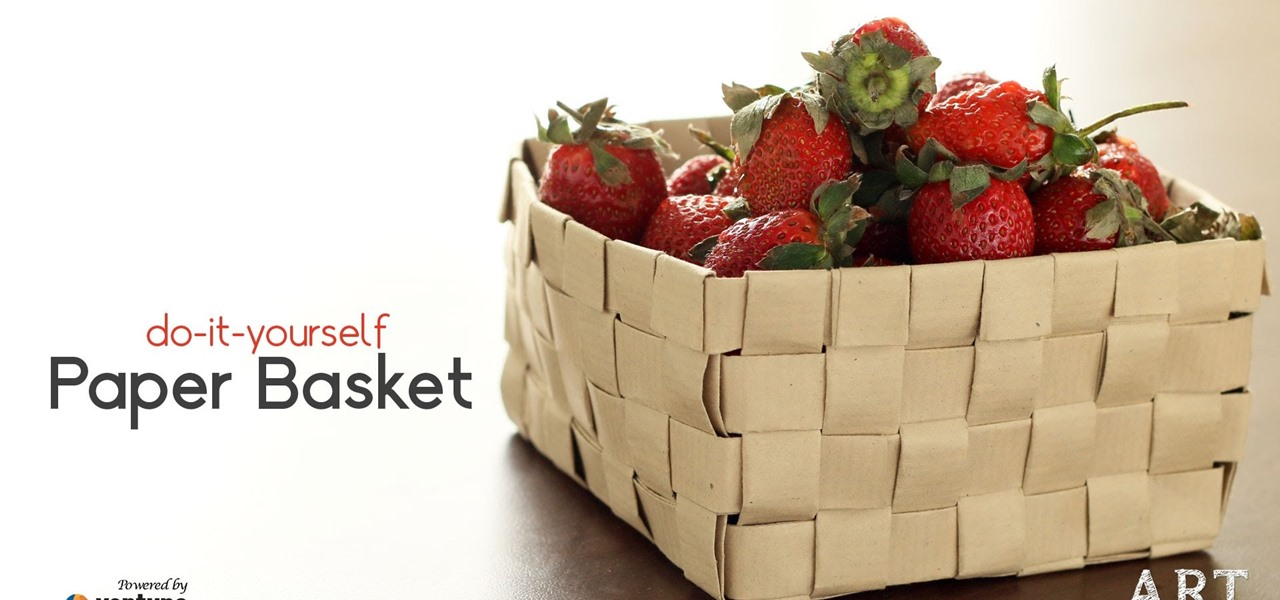 Make a Fruit Bowl from Paper
