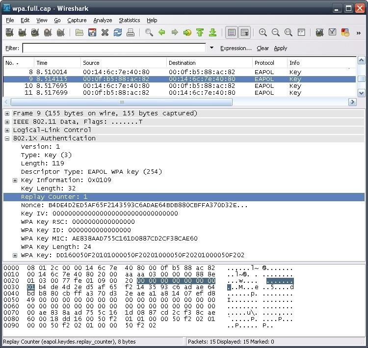 How to Check for a Succesful Capture Using Wireshark ( CAP File