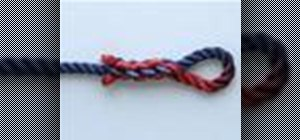 Tie the Eye Splice knot with a knot tying animation