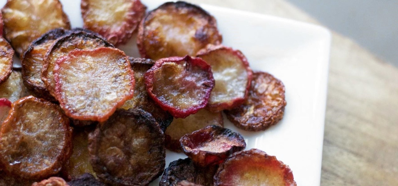 Who Knew? Turn Radishes into Chips for a Sweet & Spicy Snack