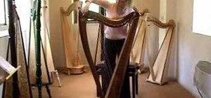 Learn different parts of the Lever harp