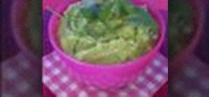 Make Mexican guacamole with fresh avocados