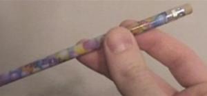 Spin a pencil