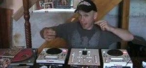 DJ mix without headphones