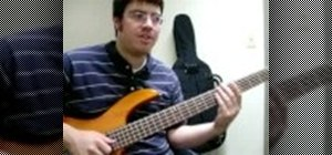 Play slap bass guitar for beginners