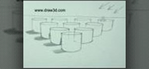 Draw multiple 3D cylinders
