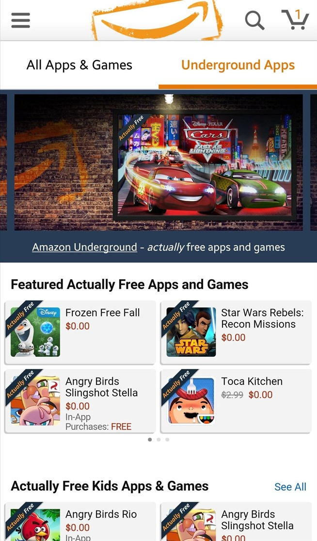 New Amazon App Gives Away $10,000 Worth of Paid Apps for Free