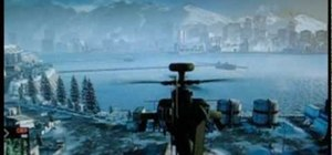 Fly the helicopter in Battlefield: Bad Company 2