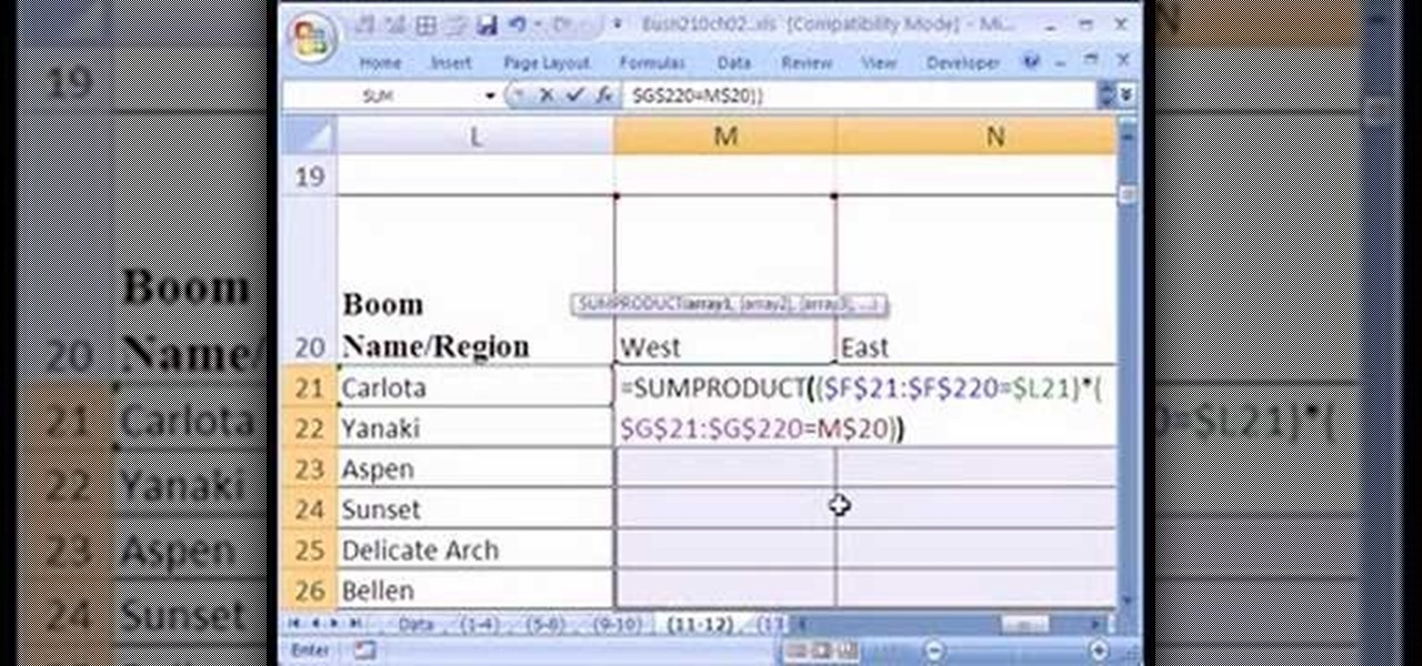 How To Cross Tabulate Categorical Data With Formulas In
