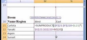 Cross tabulate categorical data with formulas in Excel