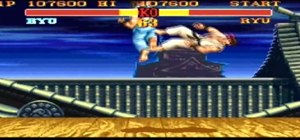 Walkthrough Street Fighter II Turbo on the SNES