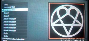 Make a HIM logo Call of Duty Black Ops emblem