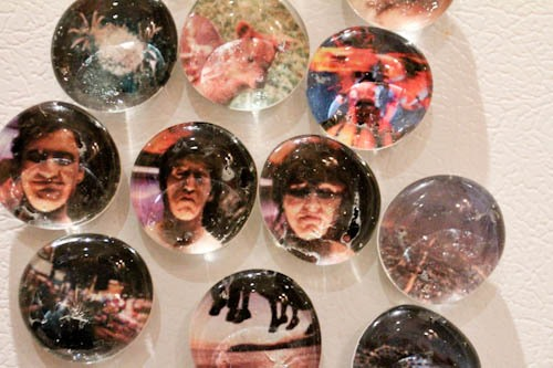How to Make Marble Photo Magnets