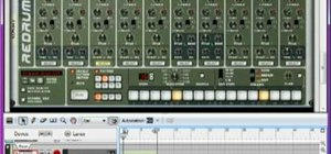 Make a trance electronic music song from scratch using Reason 4