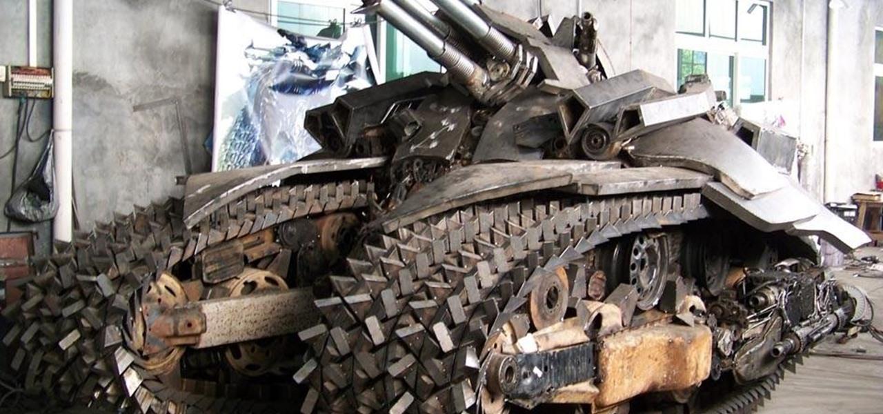 Steampunk Tank?