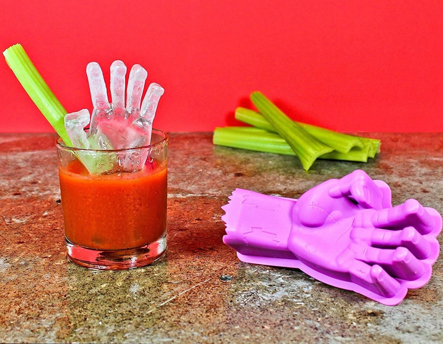 Halloween Food Hacks: Make an Icy-Cold, Bloody Hand