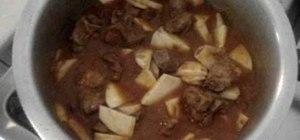 MAke Pakistani shaljam or turnip gosht