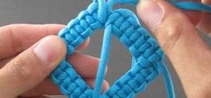 Tie a bent solomon bar on a line