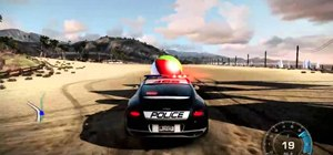 Find the beach ball Easter egg in Need for Speed: Hot Pursuit