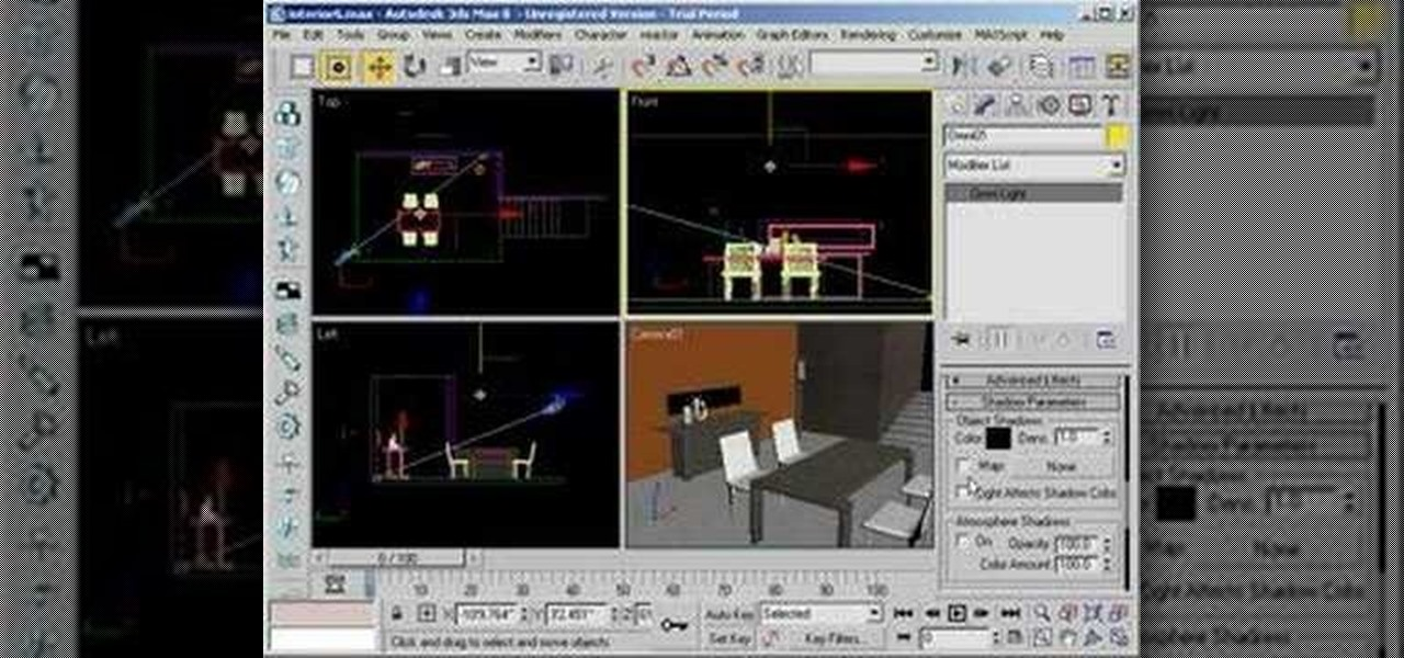 How to Use omni lighting in 3ds Max « Autodesk 3ds Max :: WonderHowTo