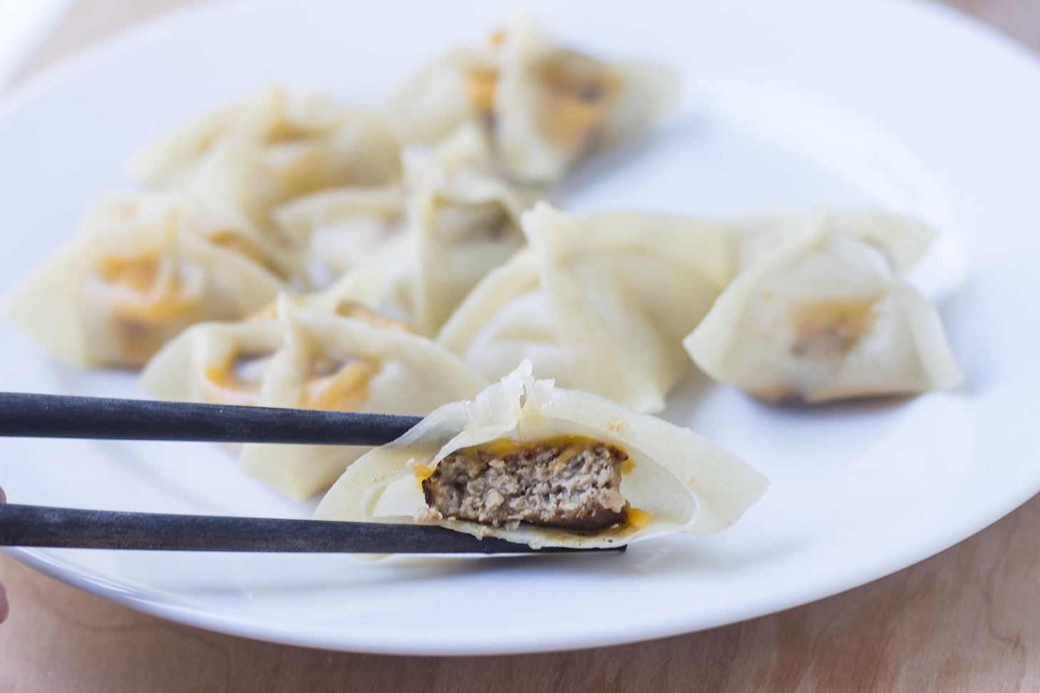 Get Creative: Make Dumplings with Cheeseburgers & Kielbasa