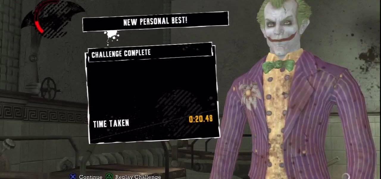 How to Beat the Paging Dr. Joker Challenge in Batman: Arkham Asylum ...