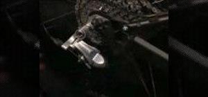 Adjust the adjustment screws on low normal derailleur