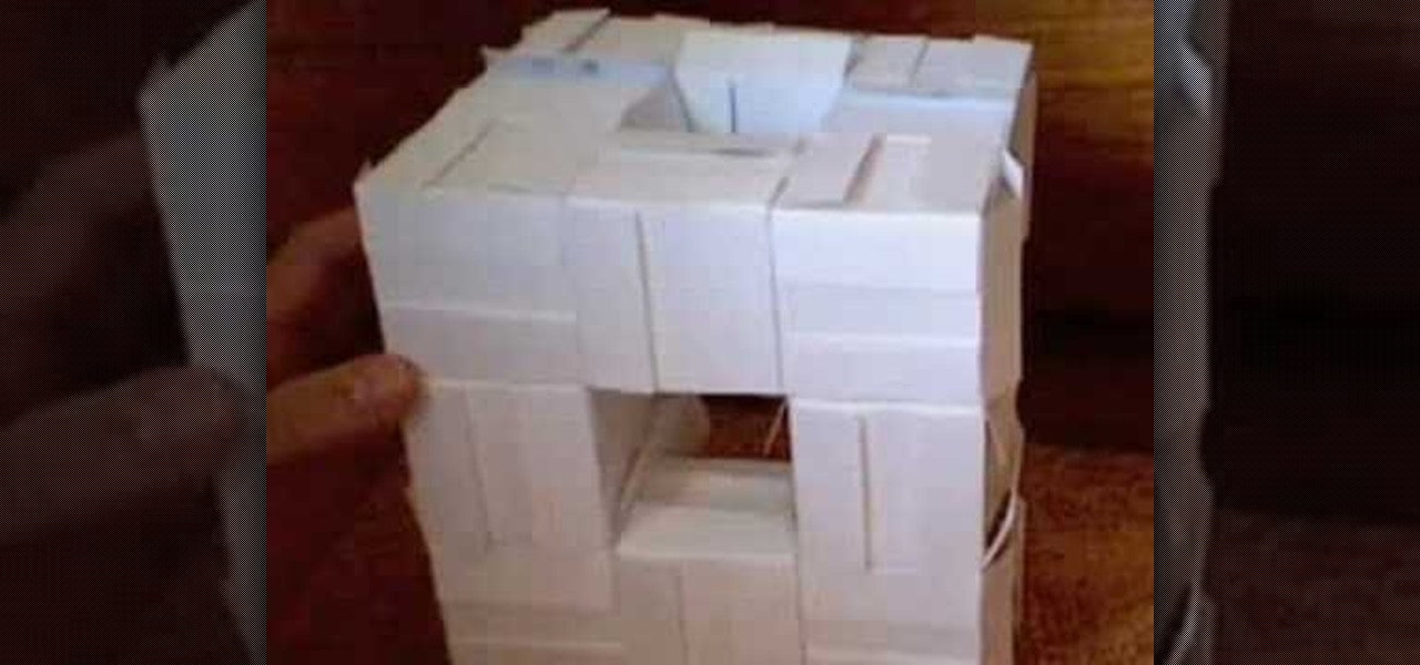 How to Fold a modular origami business card cube « Origami ...