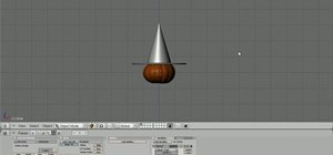 Create a 3D model of a witch hat in Blender