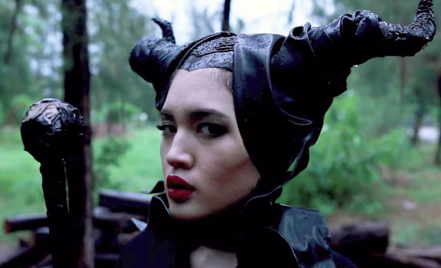 How to Be Maleficent for Halloween: DIY Horns, Dress & Makeup for ...