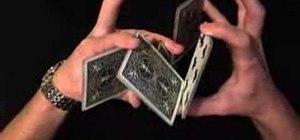 Perform the Buckeye card cut and display